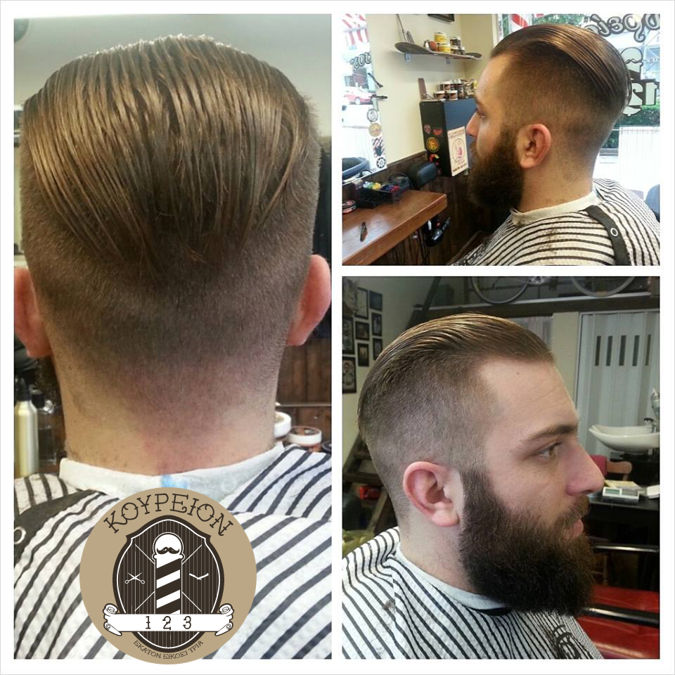 Undercut styled with reuzel pomade