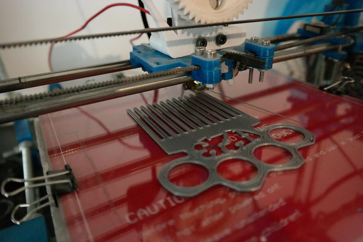 3d printed comb