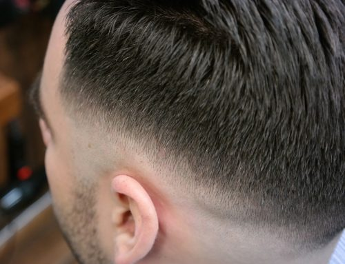 Side Part wit Mid Fade