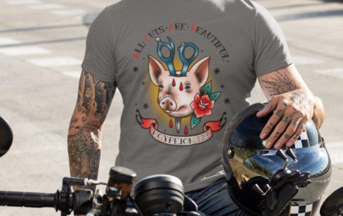 pig acab k123 t-shirt